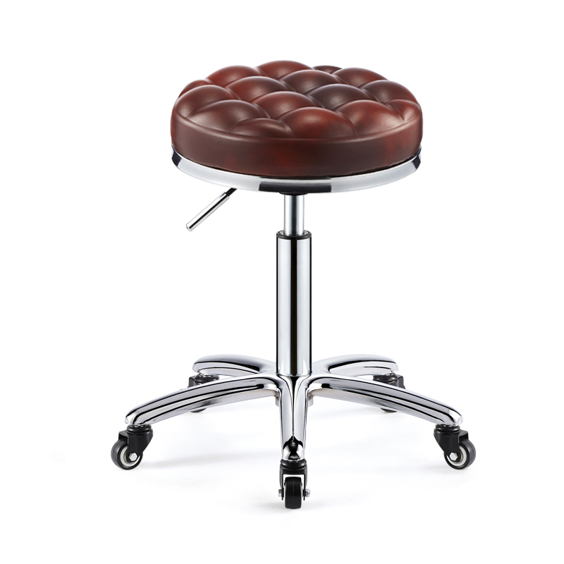 Bar Chair, Bar Chair, Beauty Chair, Backrest, High Stool, Swivel Lift Chair, High Foot Bar Chair, Bar Stool, Round Chair