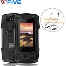 Servo x7 plus 4g lte smartphone ip68 impermeável áspero celular nfc glonass agps 3100mah walkman pequeno telefone móvel 2gb 16gb