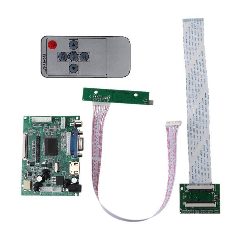 Tüketici Elektroniği'ten Devreler'de 1Set LCD TTL LVDS denetleyici V + H sürücü panosu HDMI VGA 2AV 50 ila 60PIN modülü title=