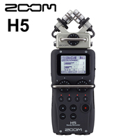 Original ZOOM H5 Professional Handheld Digital Recorder Four Track Portable Recorder Stereo Recrod Microphone Pen