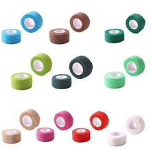 1pc Sports Self Adhesive Bandage Vet Wraps Tape Finger Joints First Aid Kit Pet Elastic Bandage