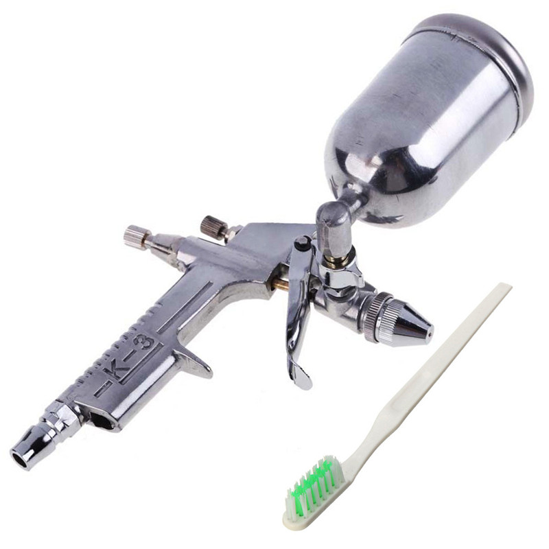 New CSS Sourcingmap A10050400ux0389 Mini 0.5 K3 HVLP Gravity Feed Paint Spray Gun Airbrush Hot High Quality