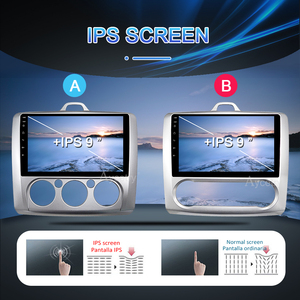 Image 2 - PX6 자동차 라디오 2 Din 안 드 로이드 10 멀티미디어 비디오 플레이어 포드 포커스 2 Mk2 2004 2011 스테레오 탐색 GPS no 2din dvd에 대 한 autoradio