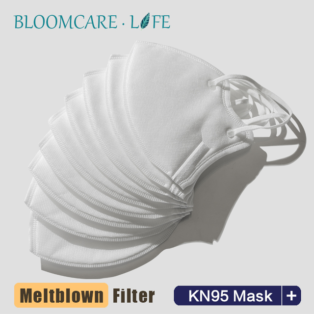Ship in 24 Hours 【BloomCare】KN95 Mouth Mask Dust-proof Anti-Flu Breathable Comfortable Face Mask 1