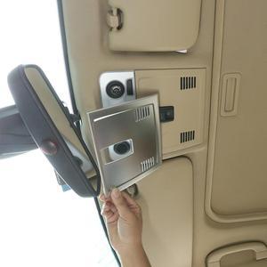 1 шт. хромированный стиль ABS автомобильный передний ряд крыша лампа для чтения декоративная крышка Накладка для BMW E90 3 серии 2005-2012 год аксессу...