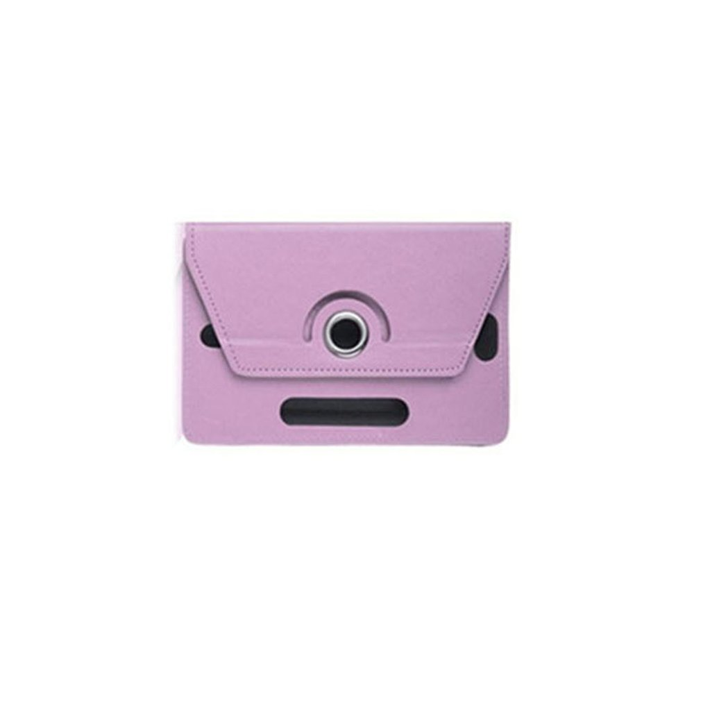 7 Inch 8Inch Tablet Computer Case Three Hole Universal Universal Four Corner Hook 360 Degree Rotating Leather Case