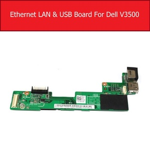 Original USB Ethernet LAN cargador junta para DELL Vostro 3500 v3500 DC clavija Junta 632VY 0632VY 09628-1 DW50 DCIN BD 48.4ET06.01