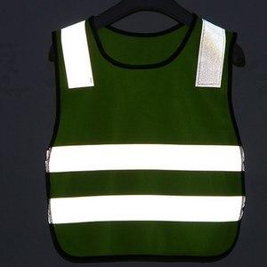 Image 5 - 反射ベスト、高視認性児童生徒子供反射ベストサッカーサイクリング安全ベストジャケット道路交通衛生新しい