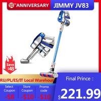 [Not Tax[2020 JIMMY JV83 Wireless Vacuum Cleaner Digital Motor Strong Power 20KPa Big Suction Aspirador Home Dust Collector