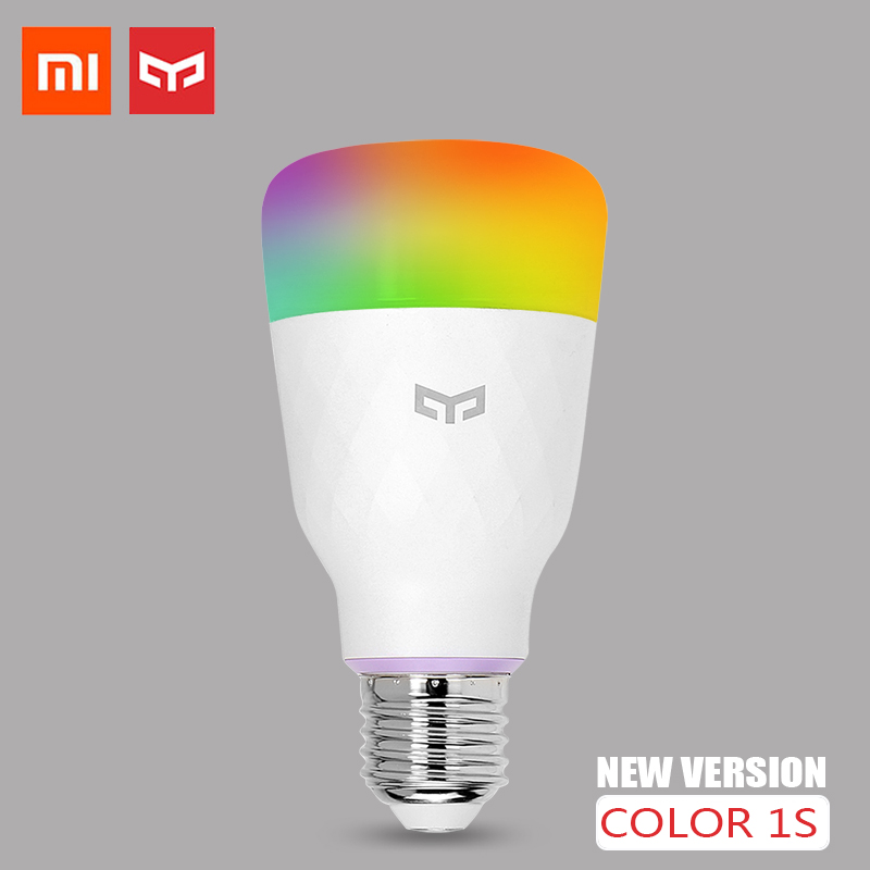 Xiaomi Smart Bulb Yeelight Smart LED Lamp 1S Colorful Lamp 800 Lumens 10W E27 For Apple Homekit Mi Mijia App Google Assistant