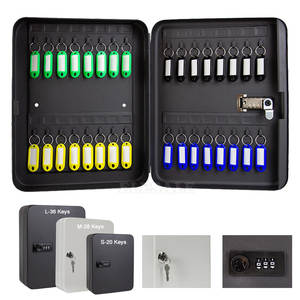 Storage-Box Car-Keys Safe Lock-Spare Combination/key Office Home for Factory New