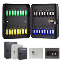 New Multi Keys Safe Storage Box Combination/Key Lock Spare Car Keys Organizer Box For Home Office Factory Store Use