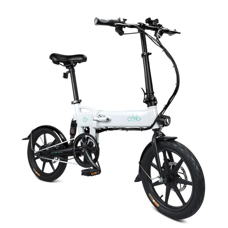 [EU Direct] FIIDO D2 7.8Ah 36V 250W 16 Inches Folding Moped Bicycle 25km/h Max 50KM Mileage Electric Bike