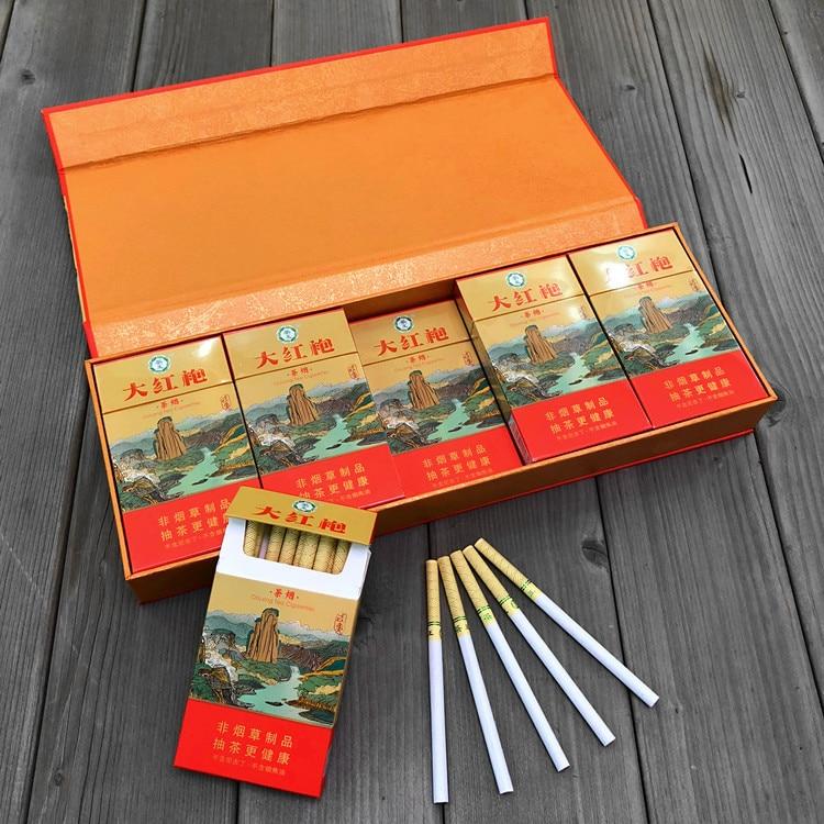 Herbal Tea Smoke Black Tea Fine Cigarette To Quit Smoking 100% Tobacco Free -100% Nicotine Free