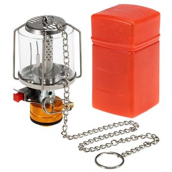 Mini Gas Lamp Outdoor Camping Lantern Tent Lamp Torch Hanging Glass Lamp Mini Camping  Portable Gas Light Camping Equipment 1