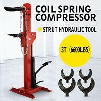 6600lbs Auto Coil Spring Compressor 3 Ton Auto Strut Hydraulic Tool