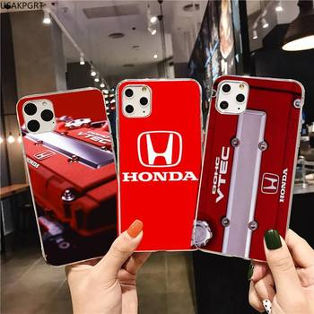 Honda logo car Phone Case for iphone 12 pro max 11 pro XS MAX 8 7 6 6S Plus X 5S SE 2020 XR cover image