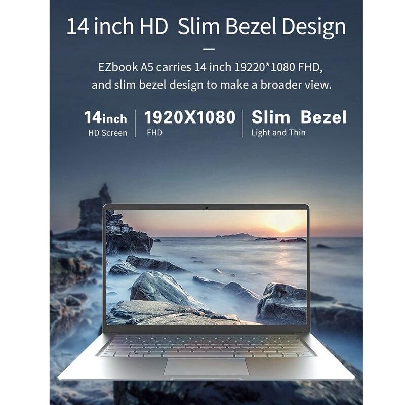 core notebook 144 ghz 4 gb lpddr3 64 gb emmc windows 10 eua 03