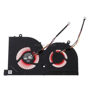 Laptop GPU wentylator chłodzący CPU dla MSI GS63VR GS63 GS73 GS73VR MS-17B1 Stealth Pro procesora BS5005HS-U2F1 GPU BS5005HS-U2L1 chłodnicy tanie i dobre opinie Free_on Brak CN (pochodzenie) DC5V 0 5A Laptop Cooling Fan