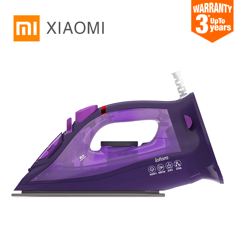 XIAOMI MIJIA Lofans Cordless Steam Iron YD 012V multi function adjustable ironing Garment steam generator anti drip design iron-in Electric Irons from Home Appliances
