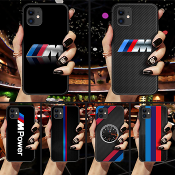 Bmw car logo Phone Case Cover Hull For iphone 5 5s se 2 6 6s 7 8 plus X XS XR 11 PRO MAX black cover soft bumper tpu waterproof image