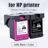 Topcolor 63XL recarga reemplazo de cartucho de tinta para HP 63 Deskjet serie 1110, 1111, 2130, 2132 envidia 4510 de 4511 HP Officejet 5220 impresora 5264