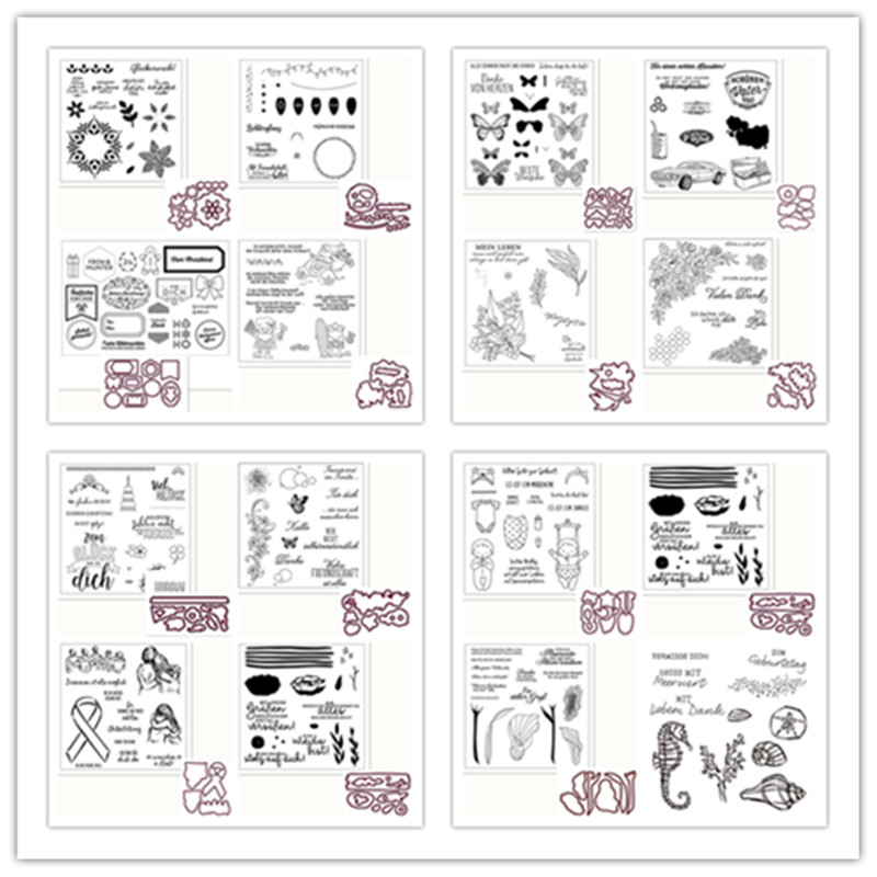 Metal Cutting Dies and Stamps for DIY Scrapbooking Photo Album Decorative Embossing Paper Card Making Stamps and Dies 2020|Cutting Dies| - AliExpress