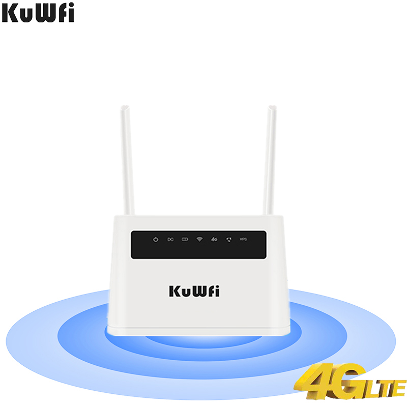 4G LTE Router Built-in 6000mAh Battery(optional 6 Hours Life) 300Mbps High Speed Wireless CPE Support LTE Sim Card Up To 32 User