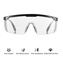 4 PCS 99.9% בטיחות משקפי מגן להגנת עיניים Windproof Dustproof עמיד שקוף משקפיים מגן בטיחות עיניים
