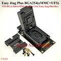 2021 neueste Original z3x Einfach Jtag Plus UFS BGA-254 Buchse/EMMC 254( EMMC + UFS 2 IN 1) adapter für EINFACH JTAG PLUS BOX arbeit