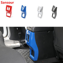 Stickers Interior-Accessories Jeep-Compass Decoration Armrest Car-Styling for ABS Sansour