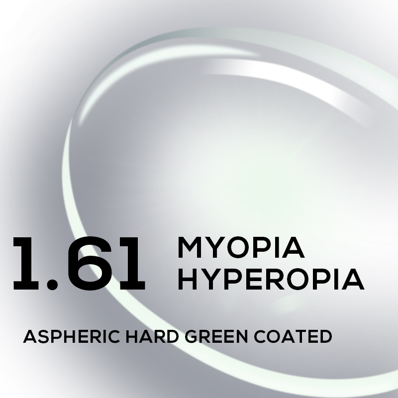 1.56 1.61 1.67 1.74 (+12.00~-12.00) Prescription CR-39 Resin Aspheric Glasses Lenses Myopia Hyperopia Presbyopia Optical Lens