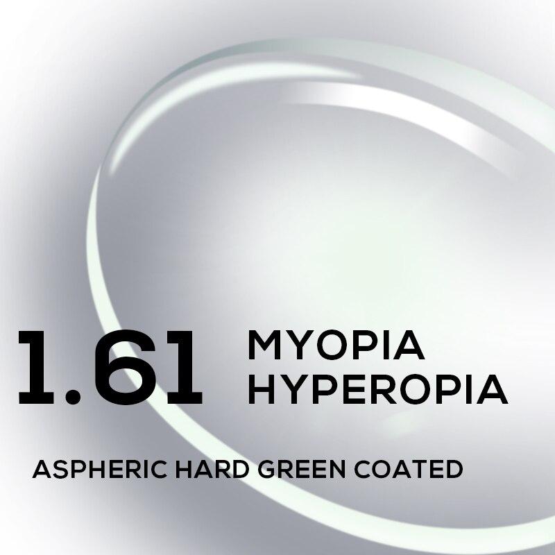 1.56 1.61 1.67 1.74 (+ 12.00 ~-12.00) reçete CR-39 reçine asferik gözlük lensler miyopi hipermetrop presbiyopi optik Lens