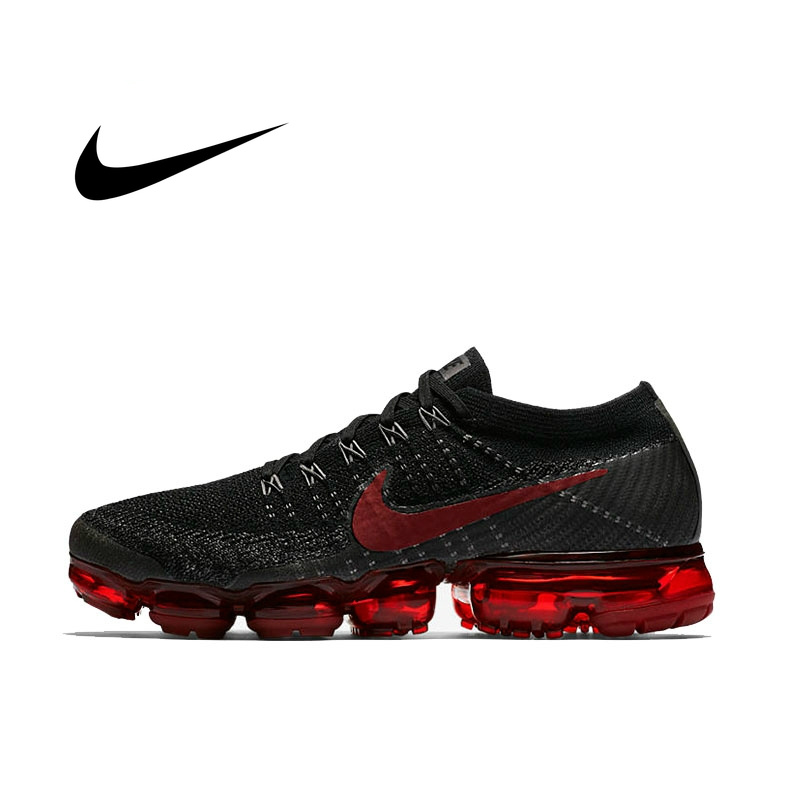 Original Official Nike Air VaporMax Be True Flyknit Breathable Men's Running Shoes Outdoor Sports Sneakers Low Top Athletic