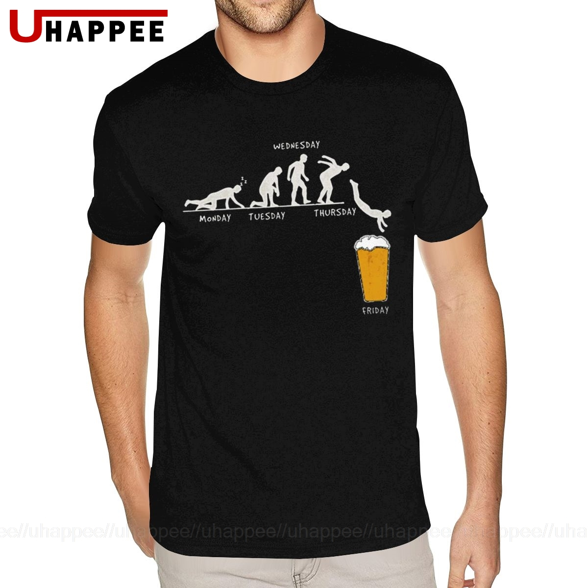 Week Craft Beer T Shirt Drunk Tee Alcohol Drinking Clothes T Shirts Guy 2020 Man Short Sleeved Cheap Price Branded Clothing image