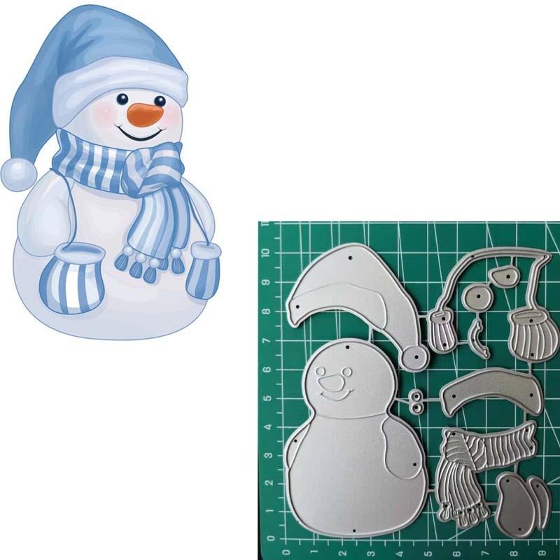 Snowman Vintage Die-Cuts 23 die cuts