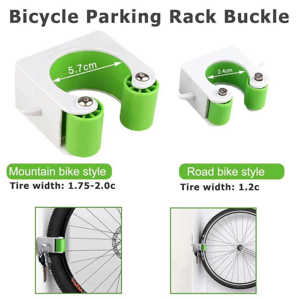HOT Wall Mount Bicycle Parking Rack Buckle Road Mountain Bike Hook Bike Storage