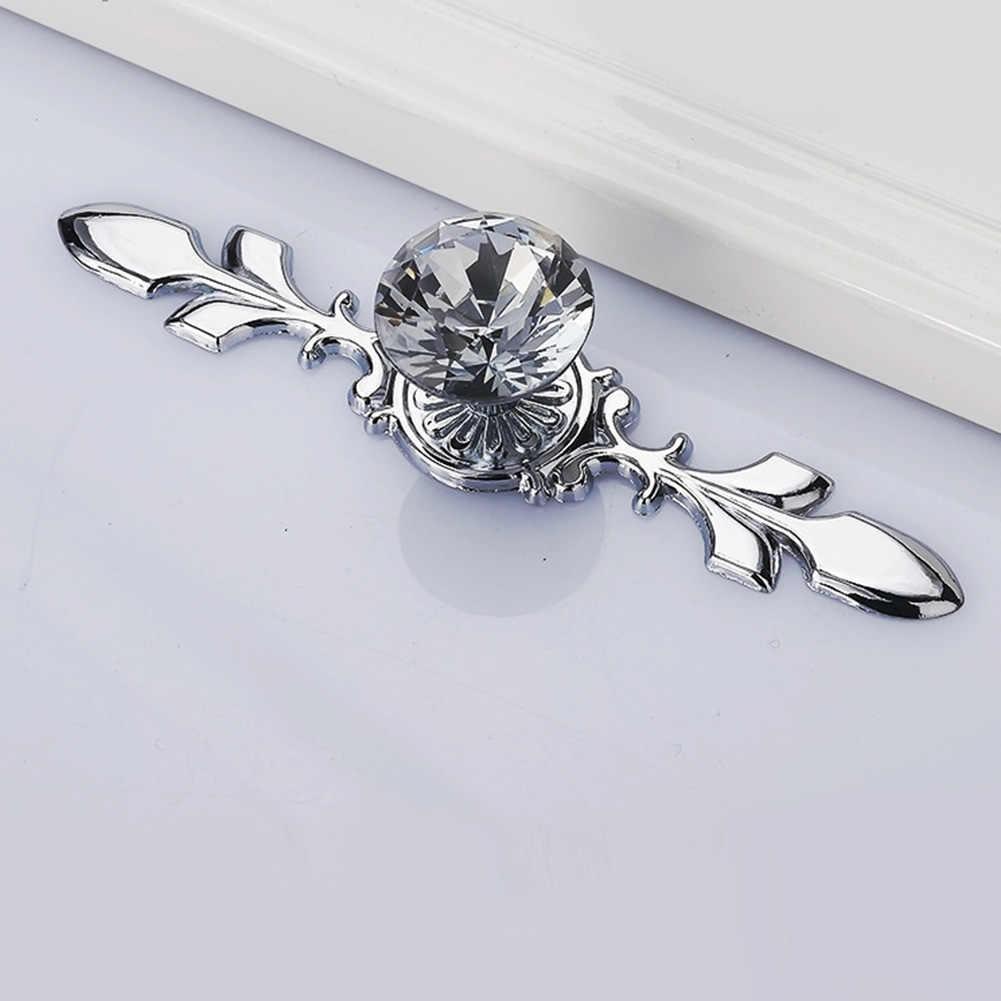 Moderne Luxe Diamond Crystal Handvatten Deurknop Schoenendoos Kast Handgrepen Kast Keuken Kast Kast Pull Handvatten Hardware