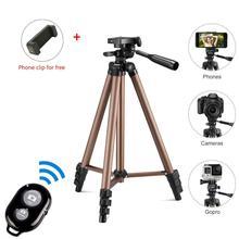 Treppiede per fotocamera per Smartphone fotocamera digitale Mini treppiede portatile portatile per treppiede da viaggio leggero