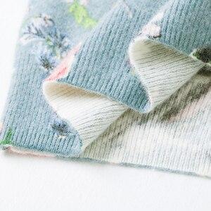 Image 4 - YISU suéter estampado para mujer, suéter de otoño e invierno con estampado Floral de aves, Jersey informal holgado de manga larga, 2019