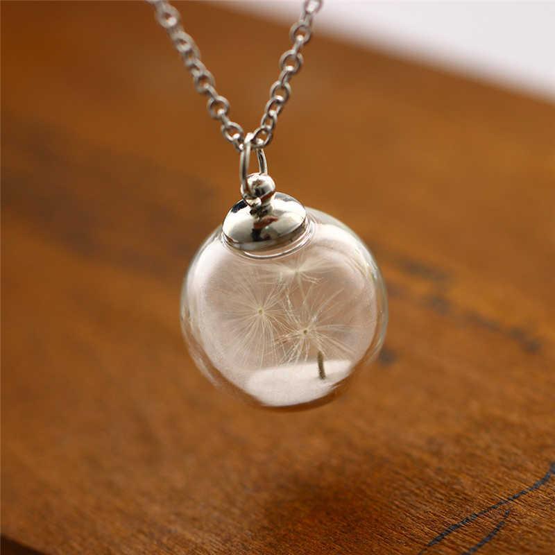 Серебряное полое светящееся каменное ожерелье для женщин и мужчин, подвеска в виде Луны, ювелирное изделие, модная цепочка, колье, женское светящееся в темноте колье