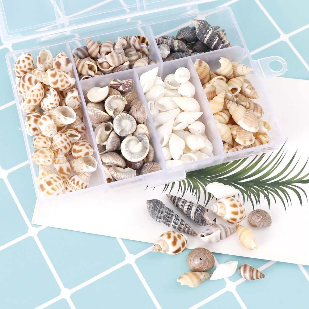 Около 100 шт./кор. Природный раковин мини раковины кукурузы винтовые настенные украшения DIY декорирования аквариума ракушки изделия ручной р...