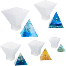 Casting-Molds Pyramid Craft-Making Polymer Silicone Resin Jewelry DIY for Clay 1PCS 5-Sizes