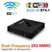 A5X Max Plus 4+64GB Android 7.1 TV Box 2.4G/5G RK3328 Set To