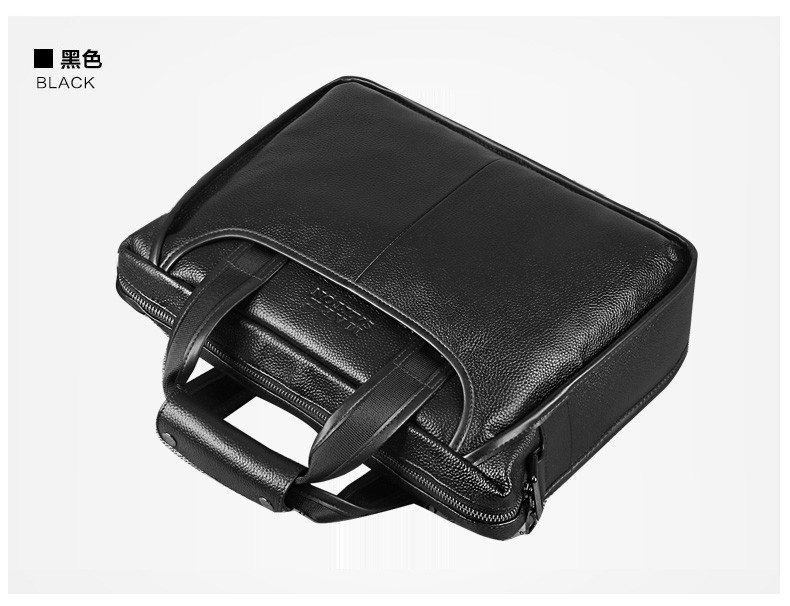 H57133986f6ba4363933ac1e9669fbd5dQ 2019 New Fashion cowhide male commercial briefcase /Real Leather vintage men's messenger bag/casual Natural Cowskin Business bag