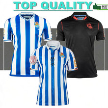 2021 Real Sociedad HOME away Jersey Football T-shirt OYARZABAL SILVA X PRIETO Real Sociedad cup Final 2019-20