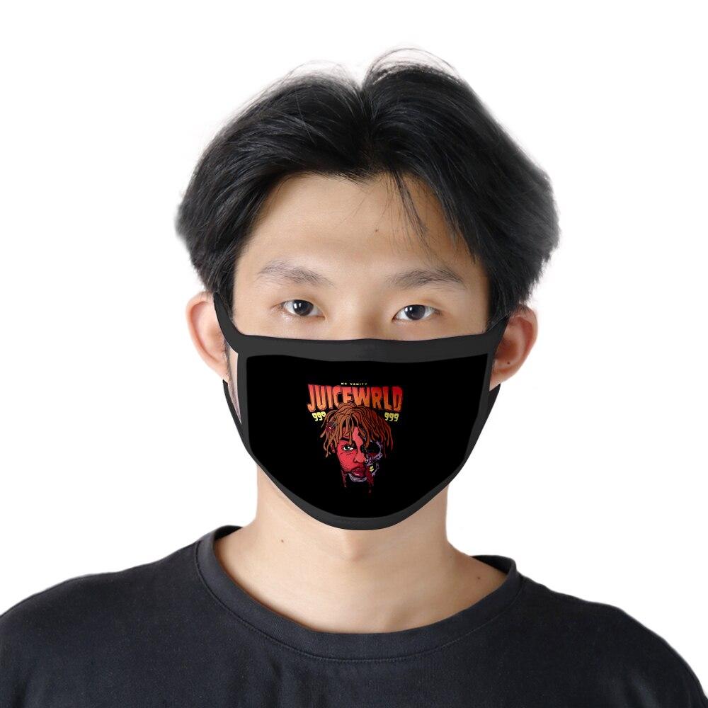 Suco wrld máscara facial reutilizável máscaras de boca venda quente moda 2020 engraçado máscara de festa lavável máscara legal dropshipping