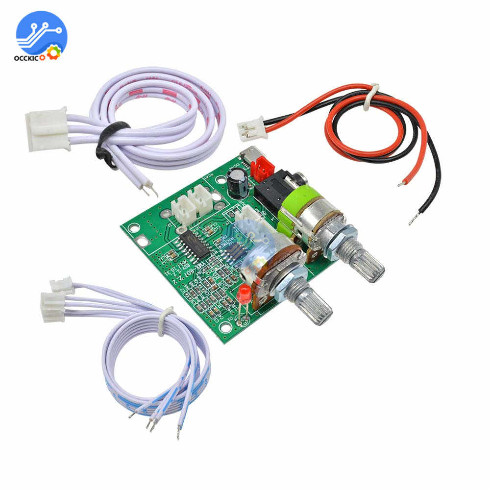 DC 5V 20W 2.1 Dual Channel Class D Audio Amplifier 3D Surround Stereo Digital Power Amplifier Board AMP Module For Arduino
