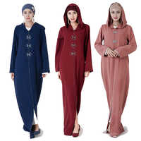 Kaftan Abaya Dubai Turkey Muslim Hijab Dress Women Abayas Caftan Saudi Turkish Islamic Clothing Robe Djellaba Femme Musulman
