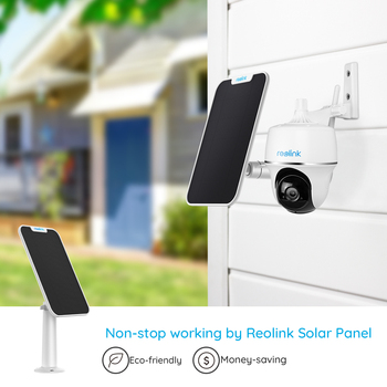 Reolink Argus PT w Solar Panel 1080P WiFi Camera PT Rechargeable Battery/Solar Powered Security Camera 2